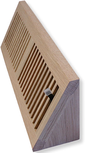 Wood Baseboard Vent Cover