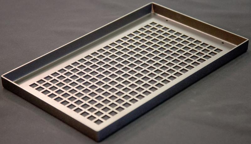 One Inch Thick Metal Baseboard Vent Cover