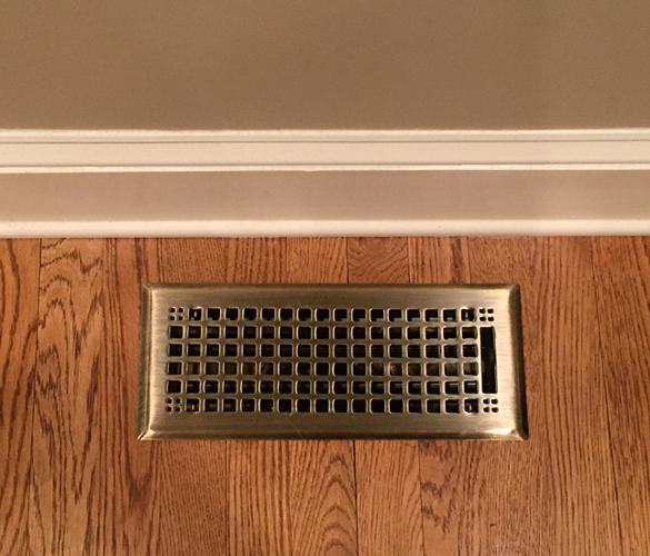 Antique Brass Craftsman Vent Cover