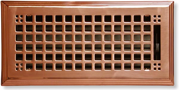 Copper Craftsman Vent Cover