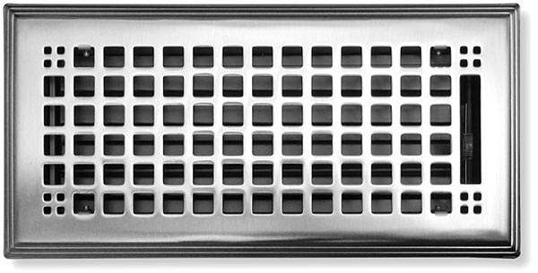 Brushed Nickel Craftsman Vent Cover