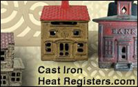cast iron heat register
