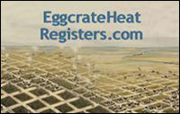custom eggcrate heat register