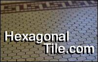 porcelain hexagonal tile