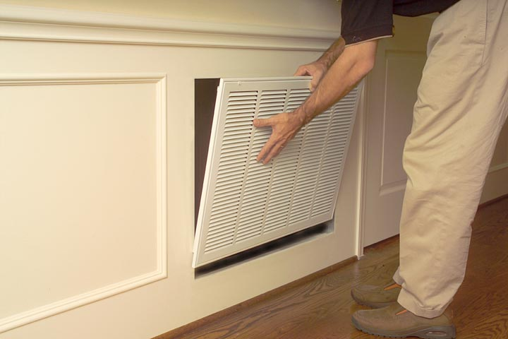 How To Install An Olympia Cold Air Return Vent Cover