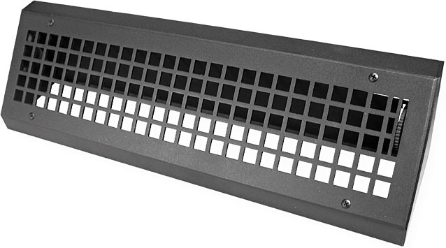 Turn Of The Century Steel Baseboard Vent Cover